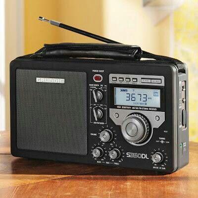 Short wave radio, National Geographic