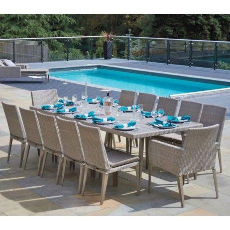 Phenomenal Bridgman Hampstead 12 Seater Dining Set In 2019 Outdoor Ibusinesslaw Wood Chair Design Ideas Ibusinesslaworg