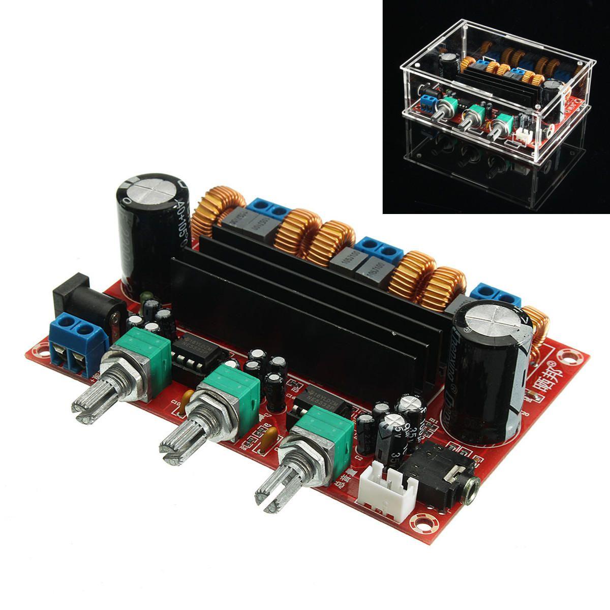 Tpa3116d2 50wx2 100w 21 Channel Digital Subwoofer Power Amplifier 2x50w Stereo Class D Audio Circuit Board Ebay