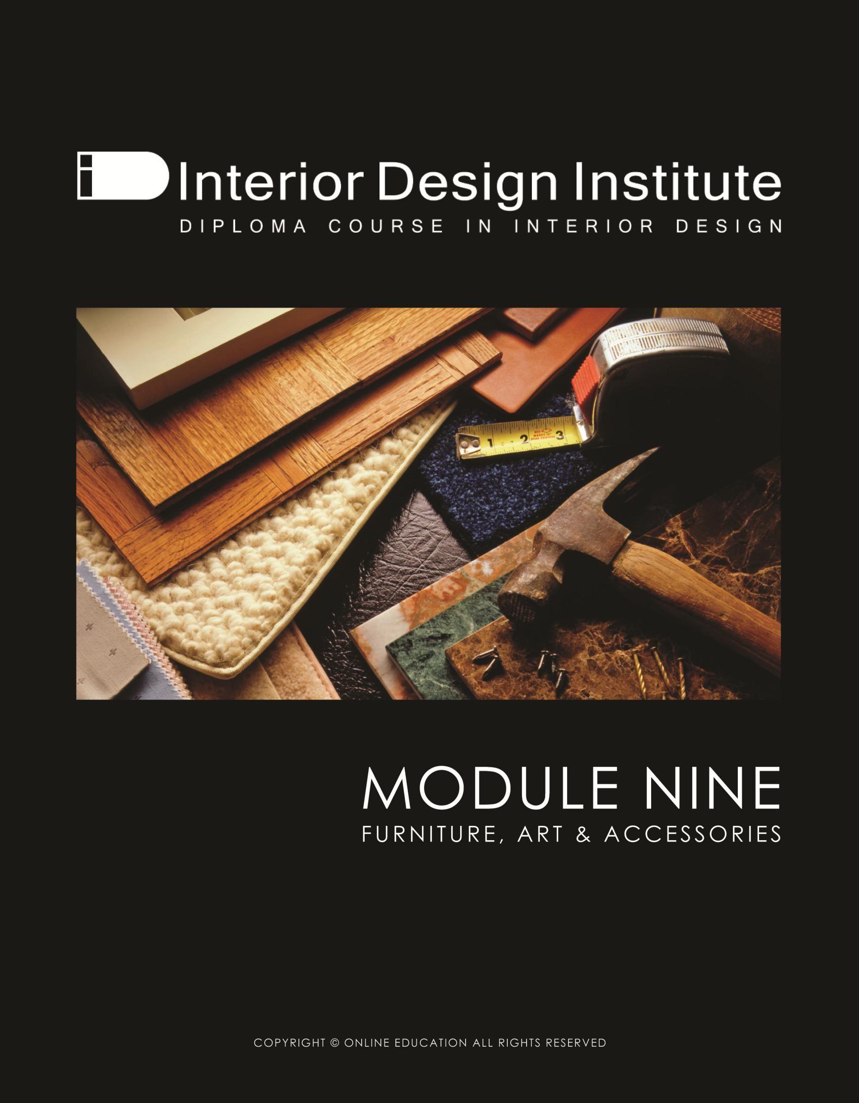 Module 9 Interior Design Institute Principles Of Design