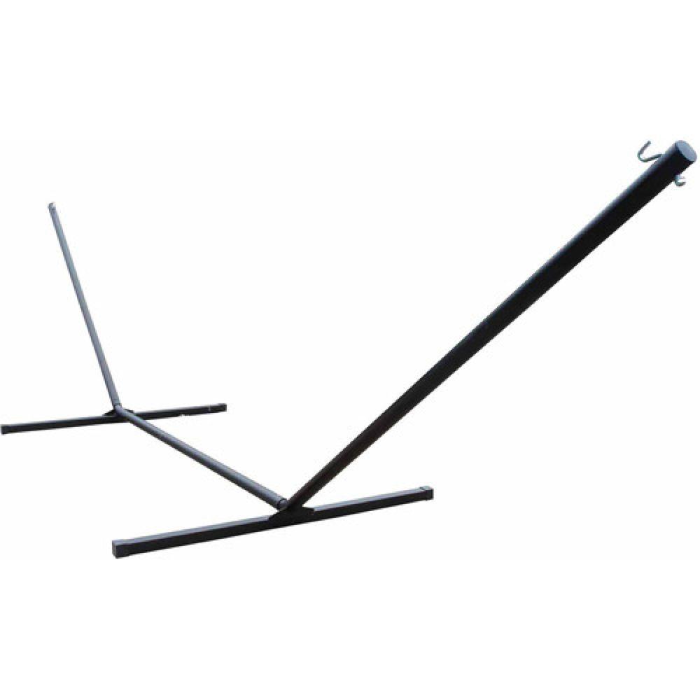 Hammock stand beam foldable portable black heavyduty durable steel