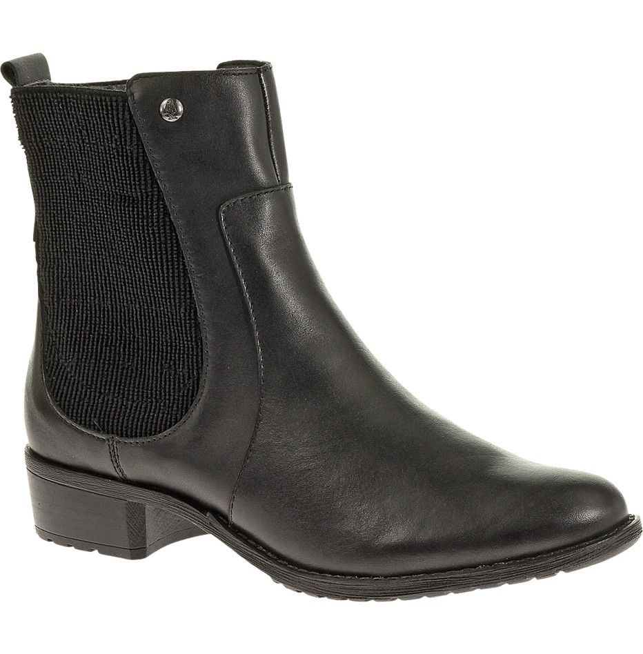 Lana Chamber Black Leather Chelsea Boots Boots Womens Casual Boots