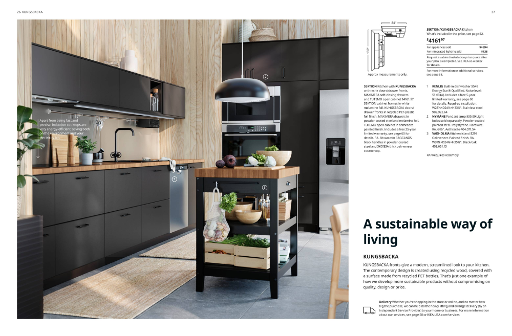Isrb Sektion 2020 Asustainableway Ikea Kitchen Brochure 2020 In 2020