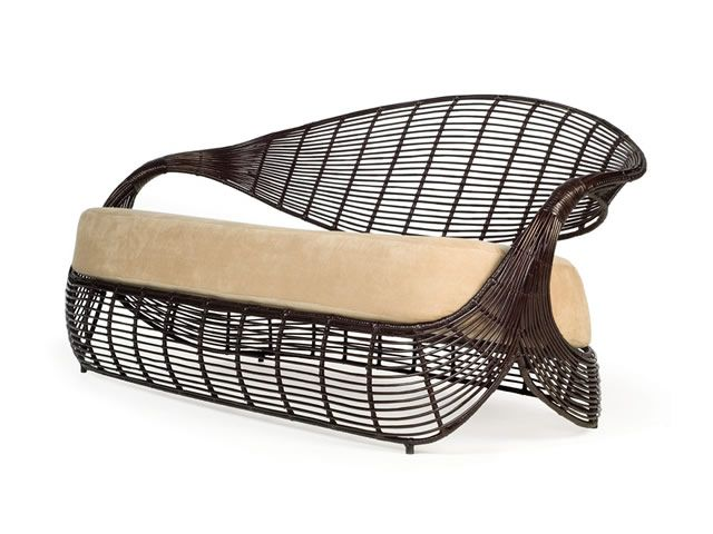 Kenneth Cobonpue MANOLO Sofa designed by Kenneth Cobonpue house - Balou Rattan Mobel Kenneth Cobonpue