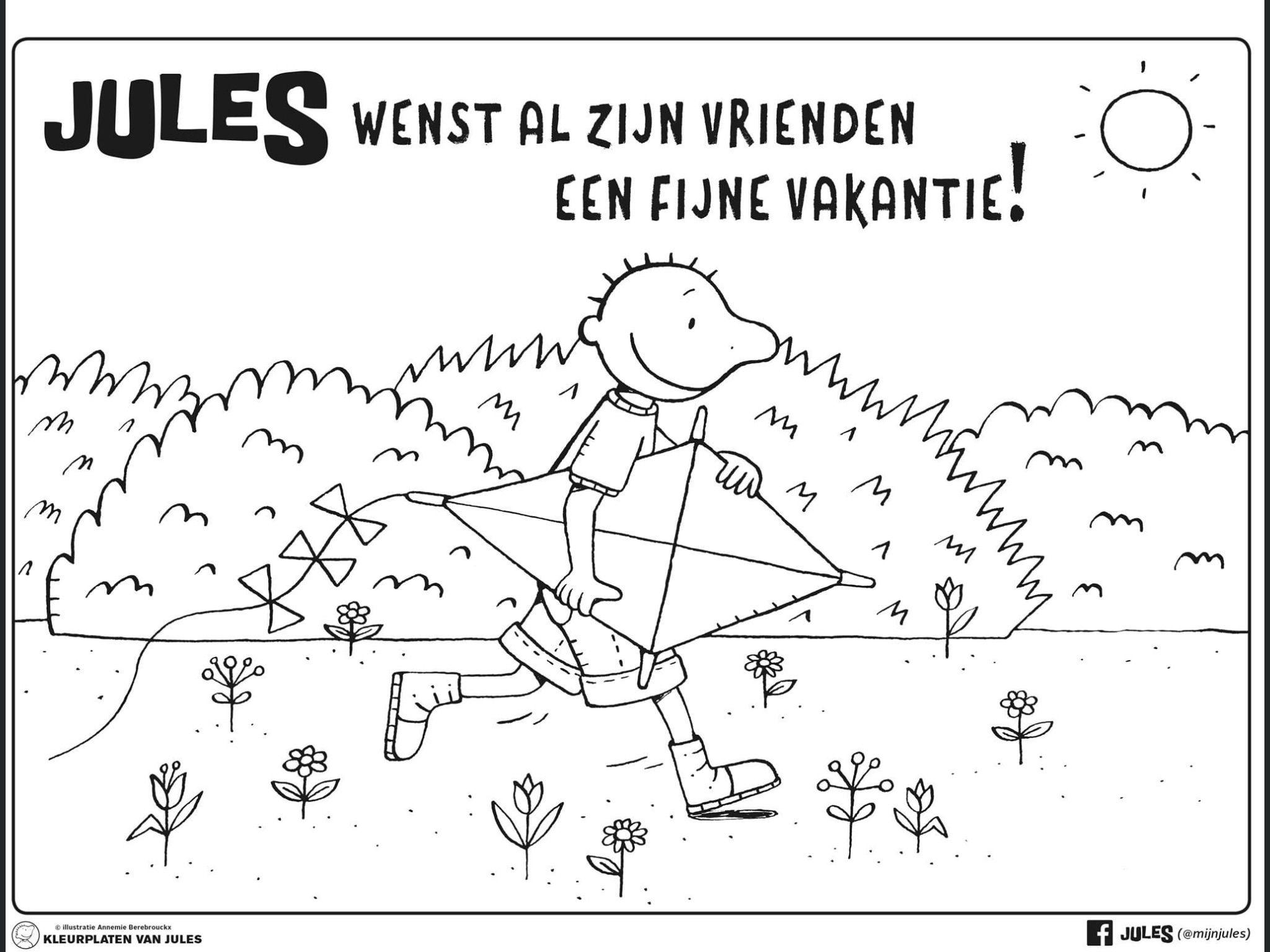Pin Van Nicole Van Den Borre Op Jules In 2020 Vakantie Zomer Thema