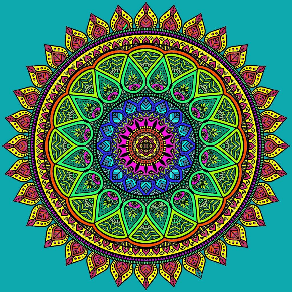 Pin by Enduring Flowers on Coloring pages | Pinterest | Mandala