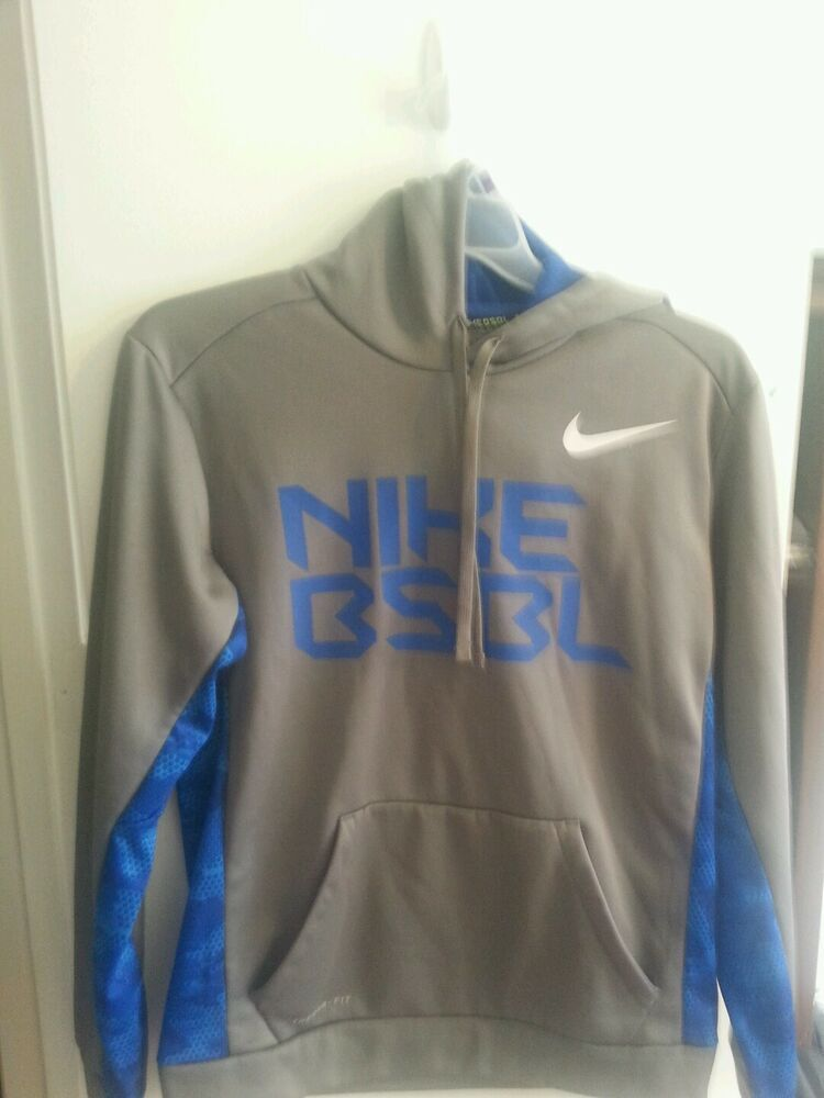 Men s Nike Therma-Fit Full Zip Hoodie Sweatshirt Solid Gray  Blue Size  Large M  fashion  clothing  shoes  accessories  mensclothing  activewear  (ebay link) 2b37e06c4