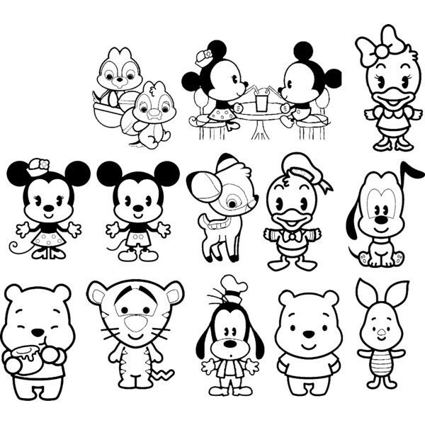 Pin By Artittyay Tapaothong On Templates Colouring Pages Templates Disney Coloring Pages Animal Coloring Books Disney Cuties
