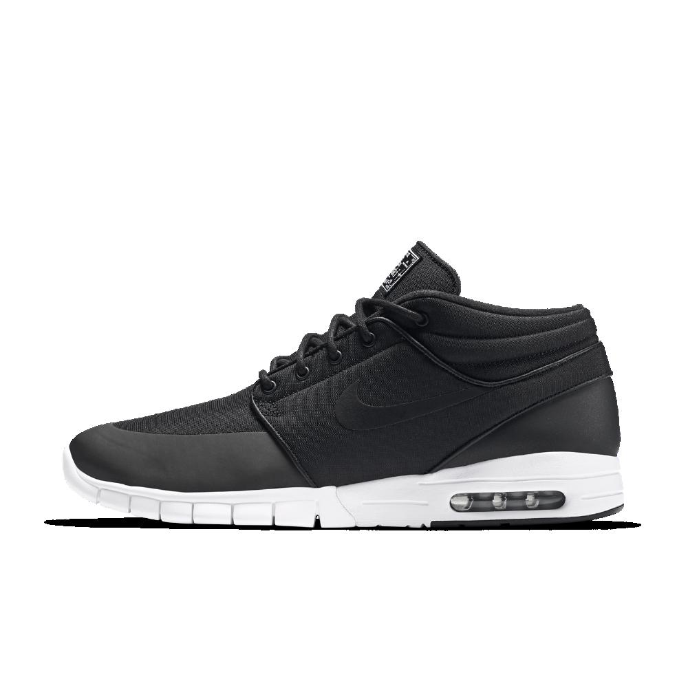 Nike SB Stefan Janoski Max Mid Men s Skateboarding Shoe Size 10.5 (Black) -  Clearance Sale e6d8f09cc