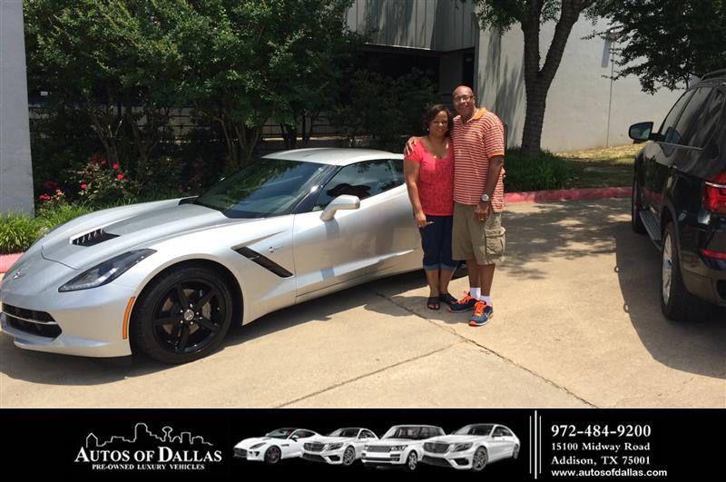 Congratulations To John Wiggins On Your Chevrolet Corvette