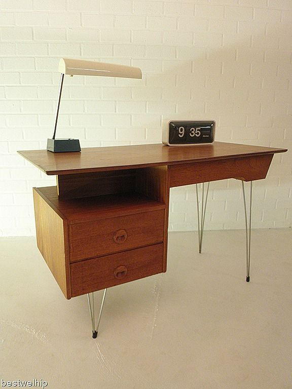 industrial desk vintage design Furniture Pinterest