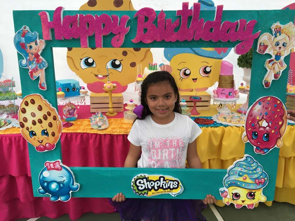Shopkings Birthday Party Ideas | Marcos para foto, Marcos y Fiestas