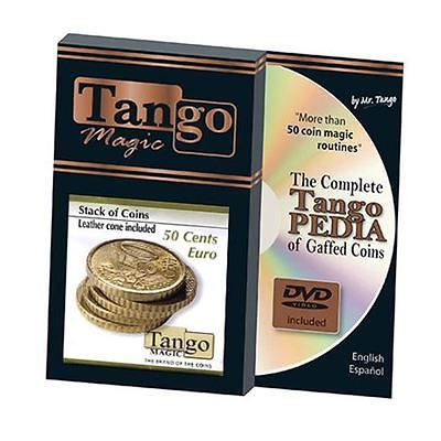 #Stack of coins 50 cent euro #(w/dvd) by tango - #trick (e0051),  View more on the LINK: http://www.zeppy.io/product/gb/2/351535395817/