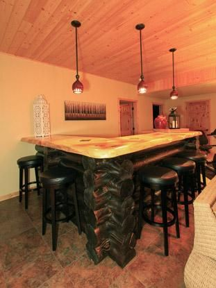 log home bar kitchens dining rooms pinterest logs bar and cabin