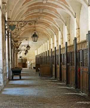 Now This Is An Elegant Stable Castle Versailles Horse