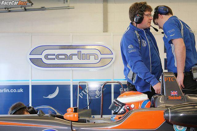 British F3 media day: Carlin, Harry Tincknell by RaceCarBuzz, via Flickr