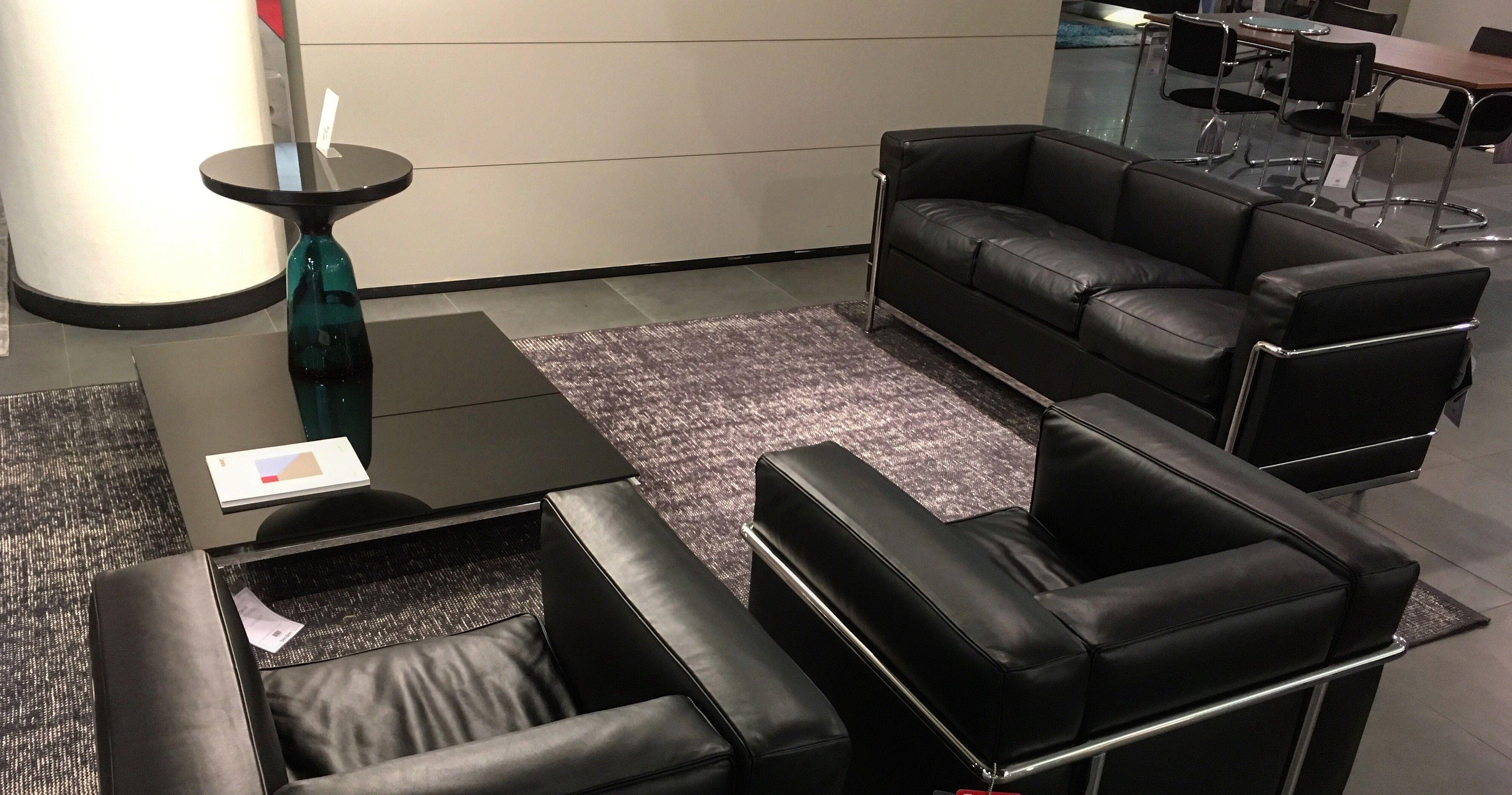 Cassina Sofa \u0026 Chairs LC 2 (Le Corbusier, Charlotte Perriand ...