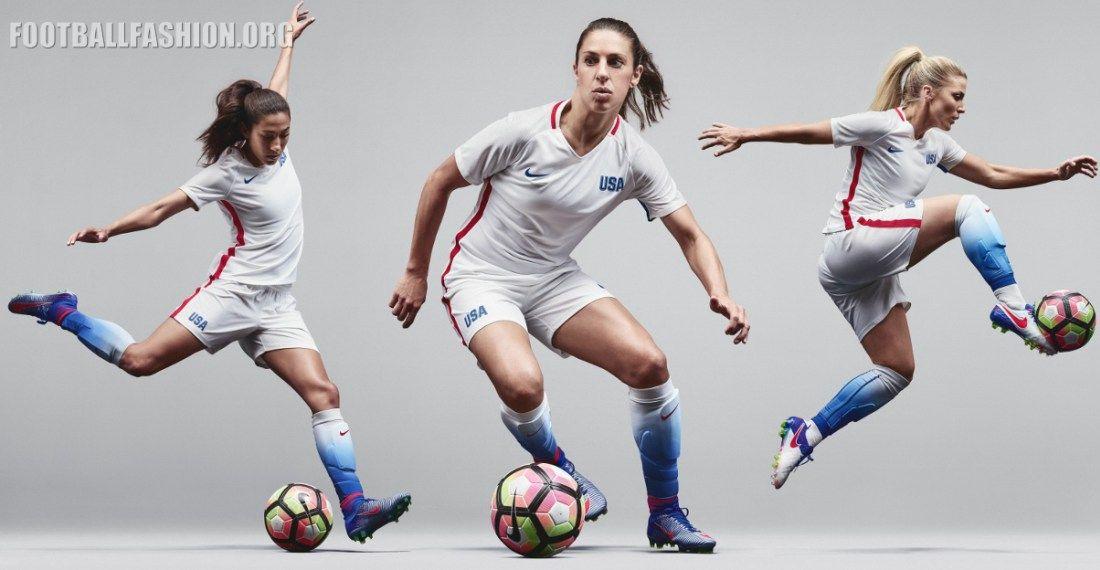 USA 2016 Rio Olympics Nike Home Soccer Jersey, Football Kit, Shirt, Camisa,