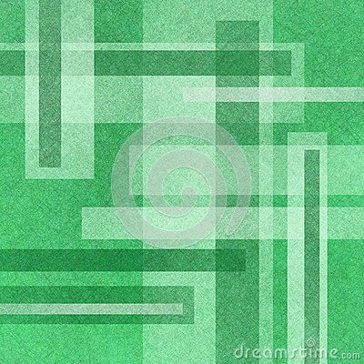 Abstract Green Background Design With Layers Of White And Green