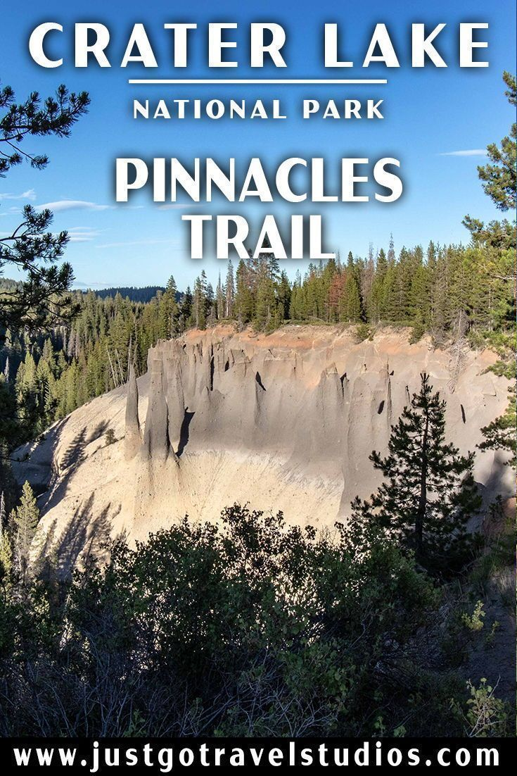 Just Go to Crater Lake National Park - Pinnacles Trail #craterlakenationalpark Hike the Pinnacles Trail in Crater Lake National Park!  Our blog will tell you how to get here, what to expect and what to pack before your trip! #justgotravelstudios #craterlakenationalpark #craterlakenationalpark Just Go to Crater Lake National Park - Pinnacles Trail #craterlakenationalpark Hike the Pinnacles Trail in Crater Lake National Park!  Our blog will tell you how to get here, what to expect and what to pack #craterlakenationalpark