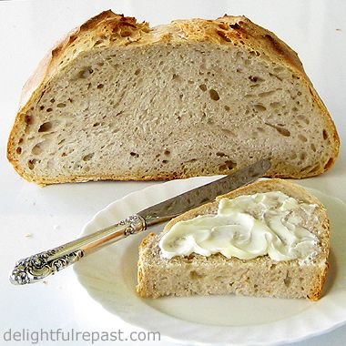 Delightful Repast: 72-Hour Sourdough Bread