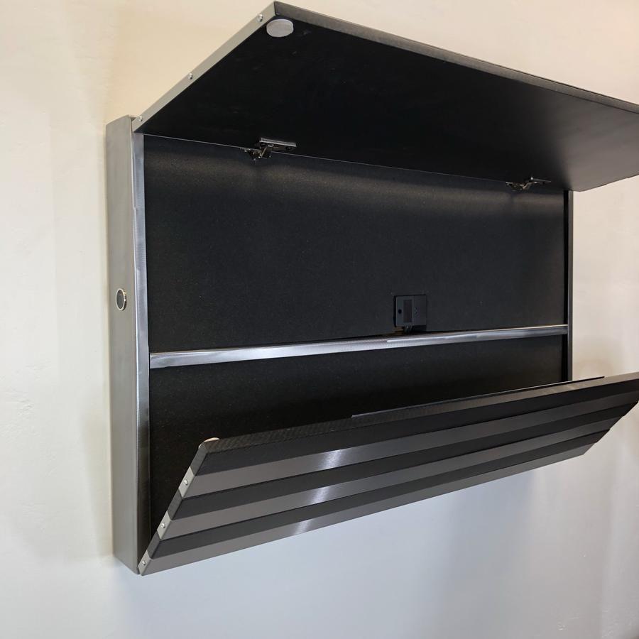 The Beast Carbon Fiber Steel Strong Box Carbon Fiber Concealment Furniture Steel