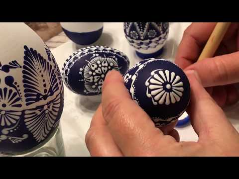 how to paint easter eggs youtube