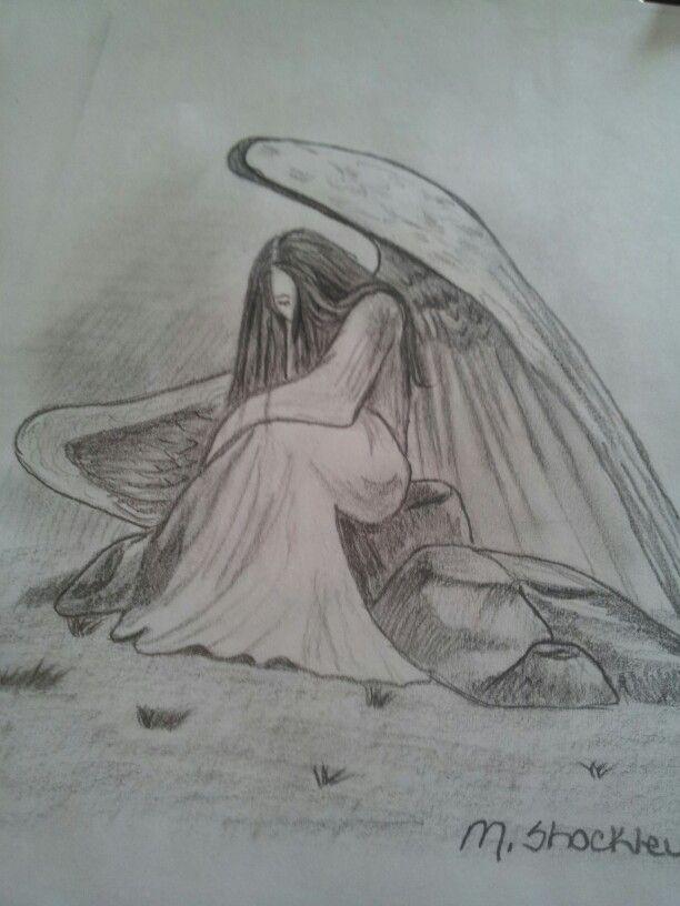 Angel drawing I drew