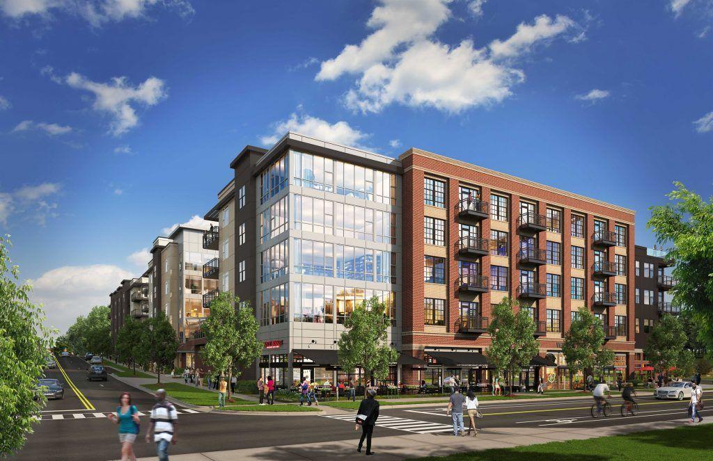 Centric Lohi Denver Colorado Apartments Facade Design Architecture