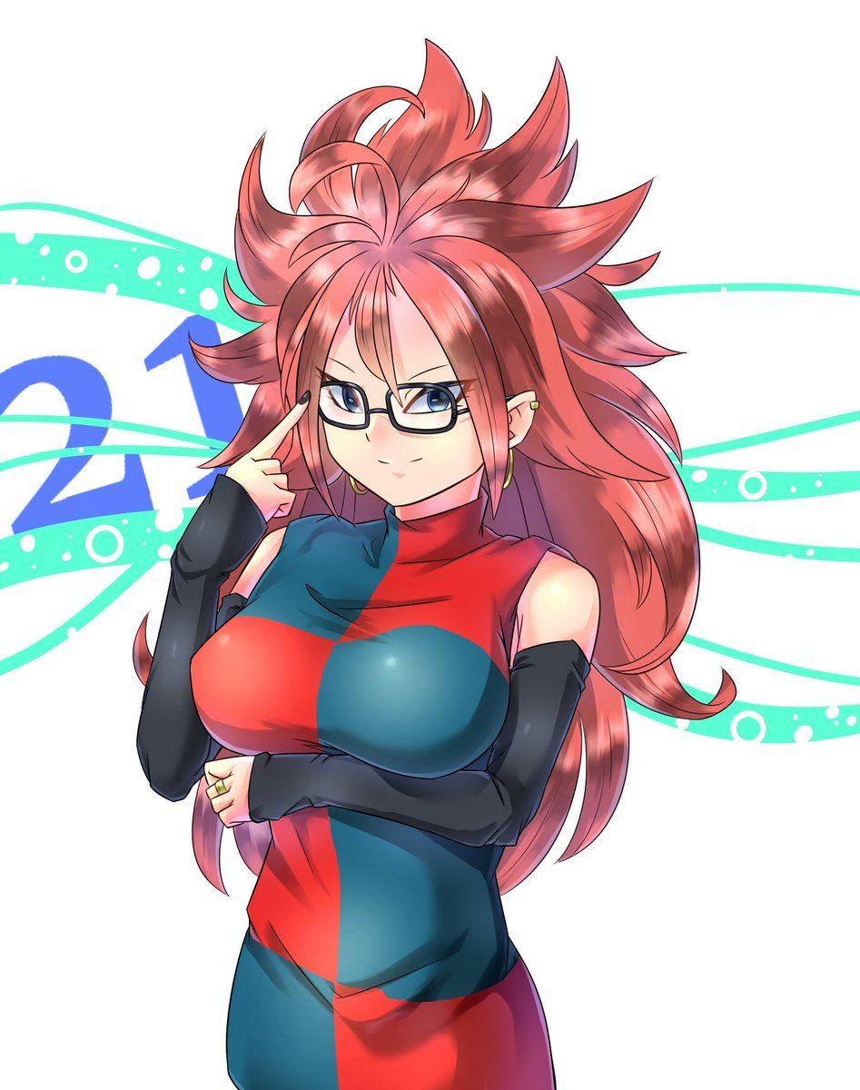 Android 21 from dragon ball fighterz by qqianchul - Dragon ball z 21 ...