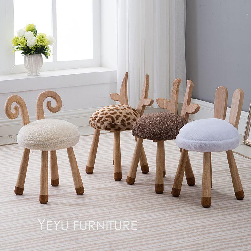 Modernes Design Aus Massivem Holz Tier Design Kinder Baby Stuhl, Nette  Reizende Kind Kind Holz