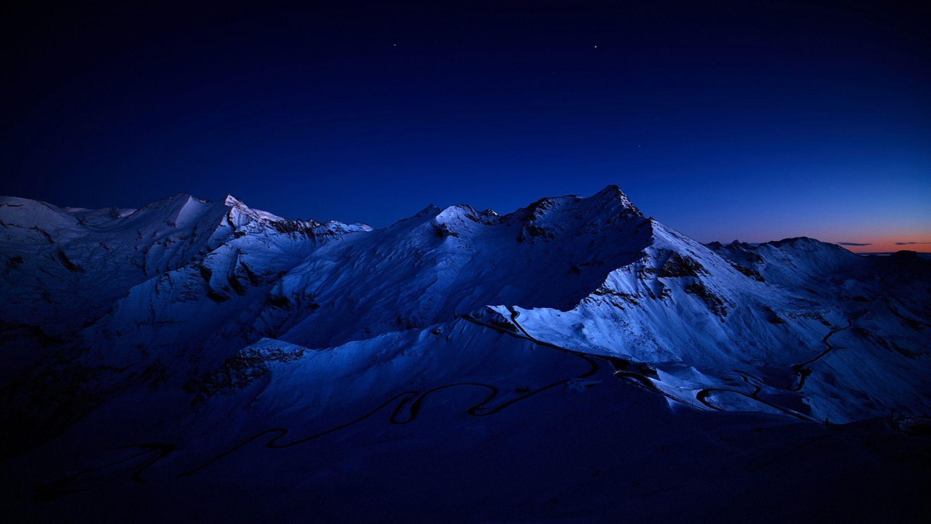 Night Mountain Wallpapers Free Sdeerwallpaper Places