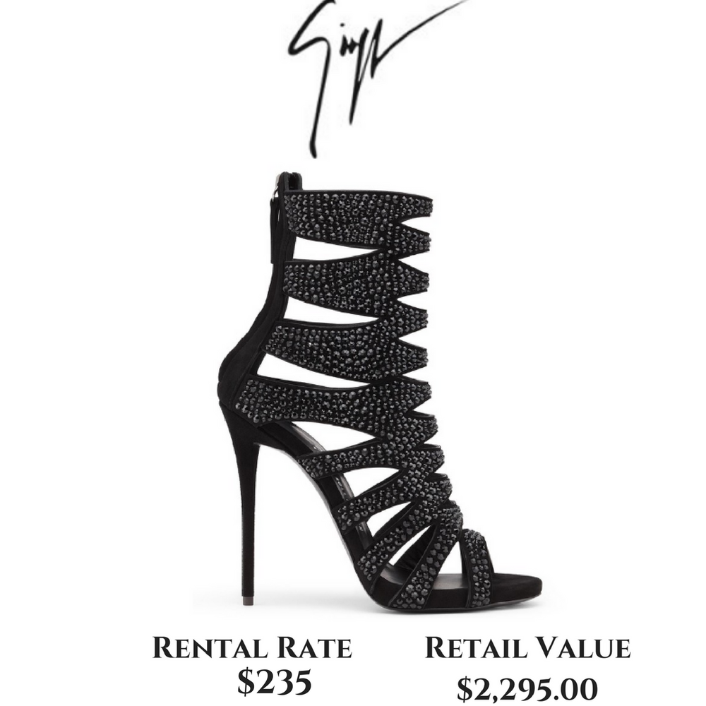 Giuseppe Zanotti Muse 20th Anniversary Rock'n'Roll Edition