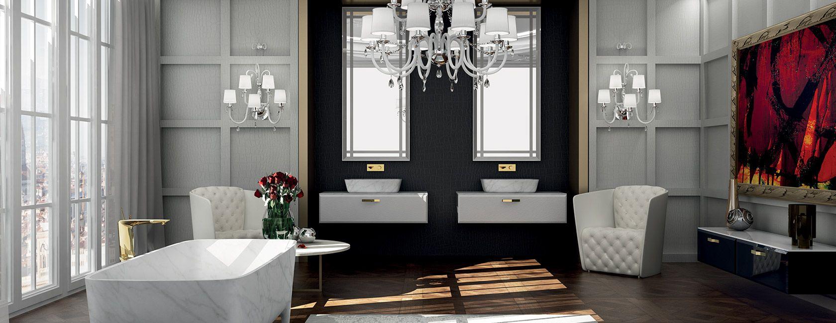 Poltrone e chandelier bagno - TEUCO | Arredo bagno | Pinterest ...