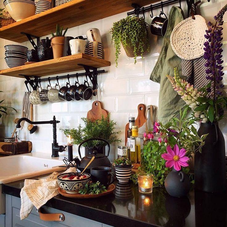 Boho Chic Interior Kitchen Designs And Decor Ideas Decorationsdiy Boho Chic Interior Interior Design Kitchen Sweet Home