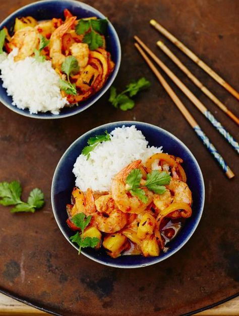 Photo of Sweet & Sour Prawns | Seafood Recipes | Jamie Oliver Recipes