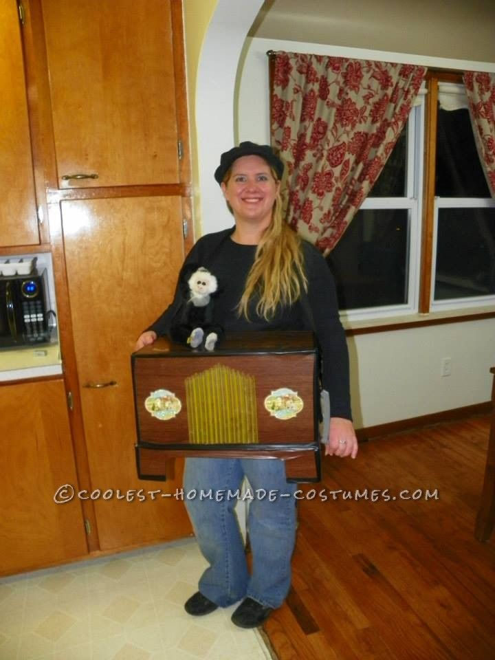 Lovely Dollar Store Halloween Costume   Organ Grinder... Coolest Homemade Costumes