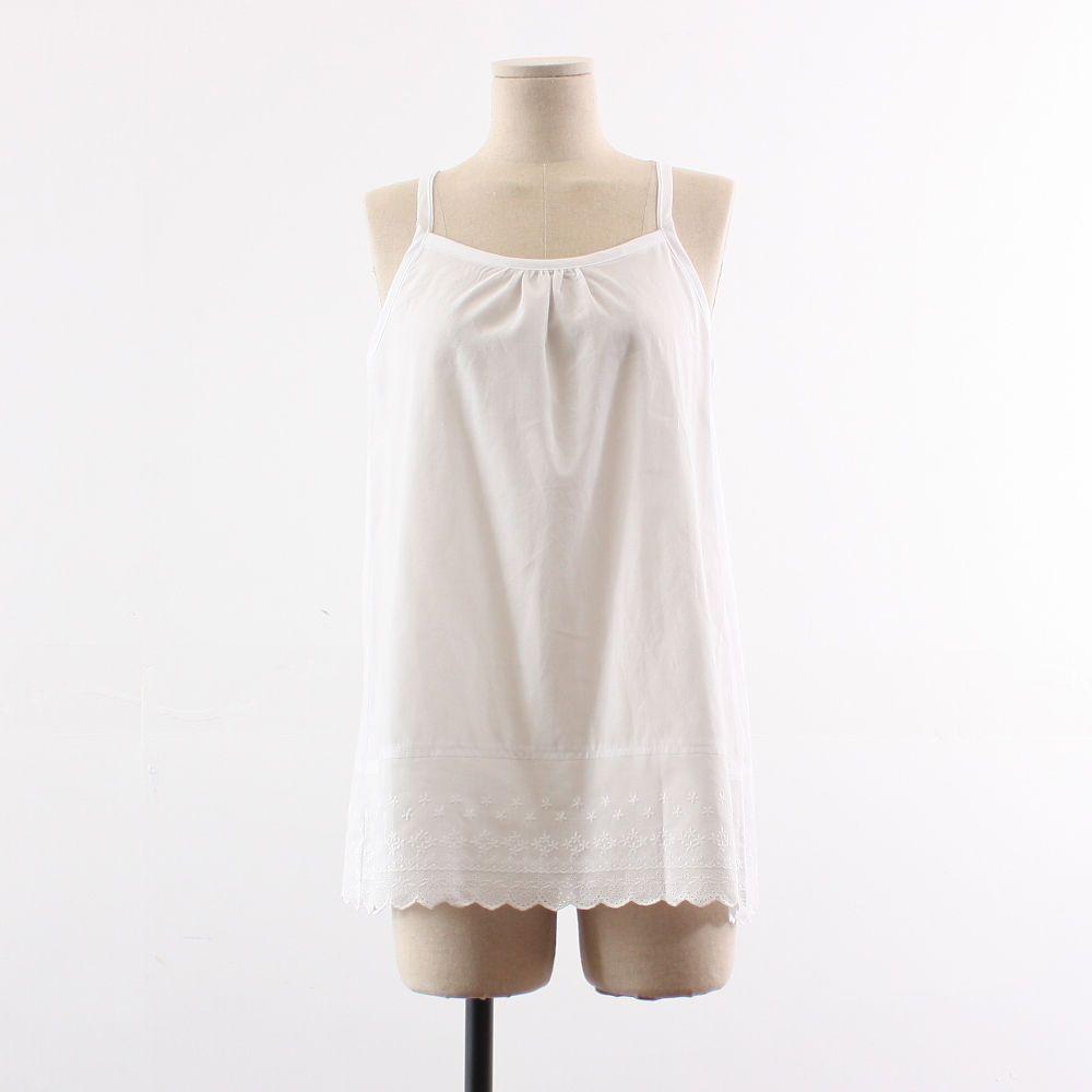 Womens Cotton White Lace Slip / Under Dress / Underskirt / Loose Fit / Plus Size #SeoArt #DressShorts