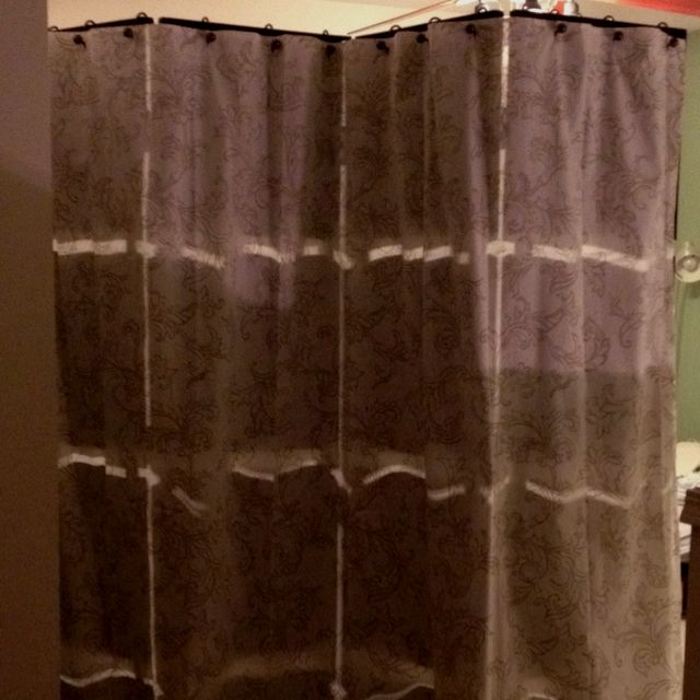 Diy Room Divider With A Cloth Tahari Shower Curtain And Fancy