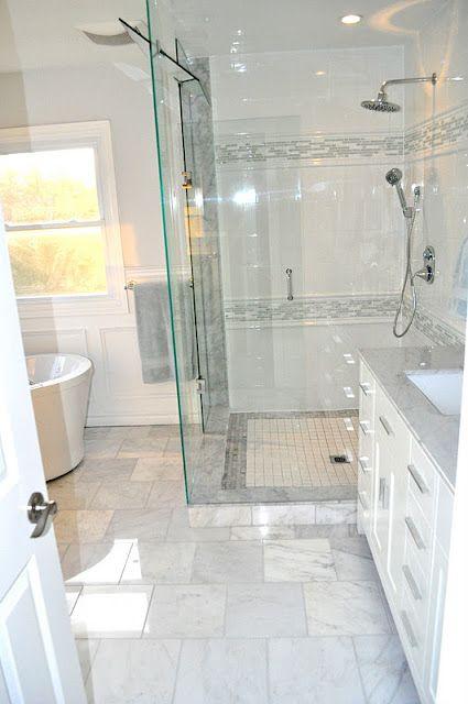 Small Bathroom Floor Cabinet: Gorgeous Bathroom! Amazing Makes This Small Bathroom Seem