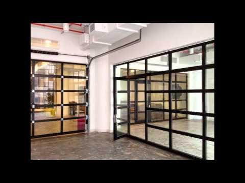 Clear Glass Roll Up Doors