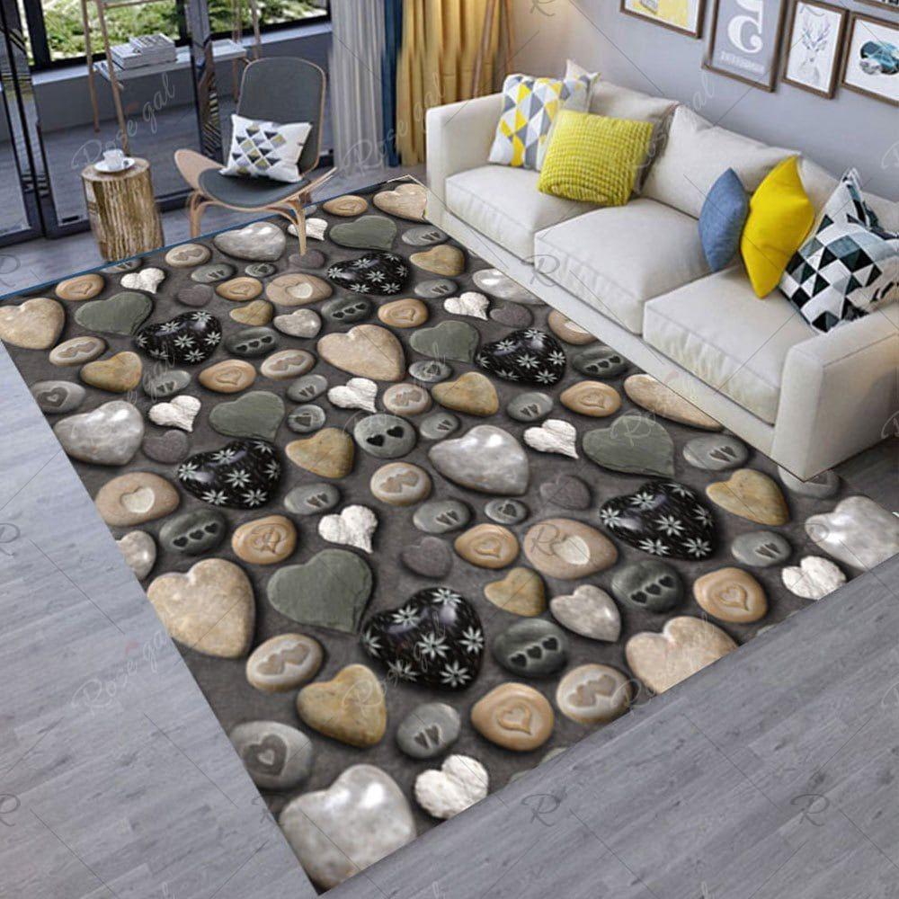 Floor Mat Stone Printing Home Living