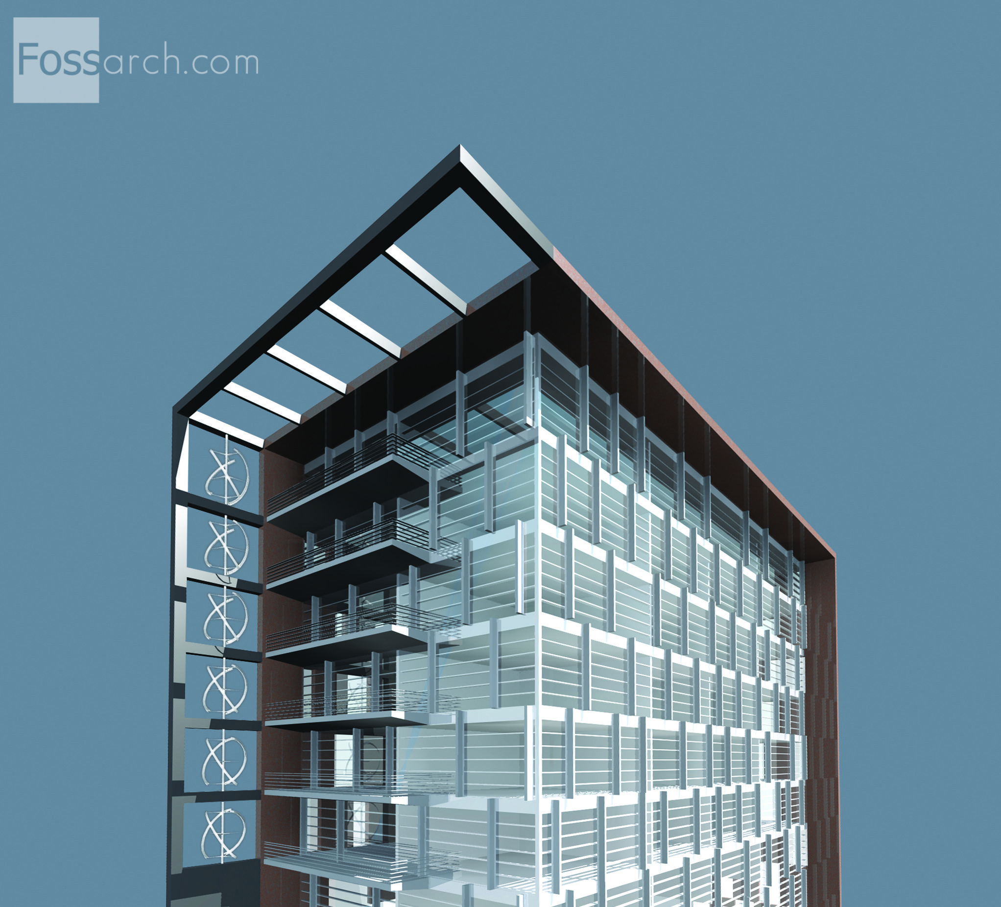 Downtown Fargo Urban Infill Competition   Residential Tower