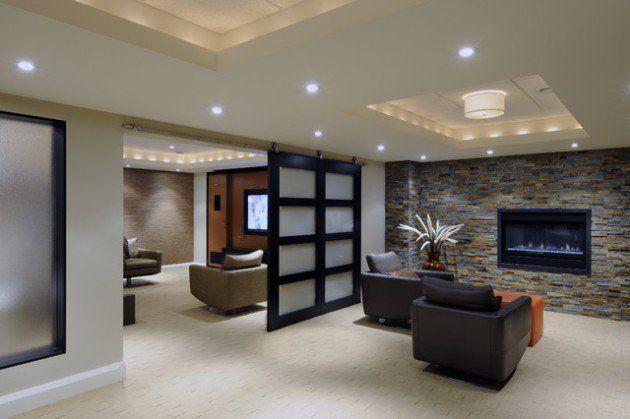 Basement Idea 24 stunning ideas for designing a contemporary basement