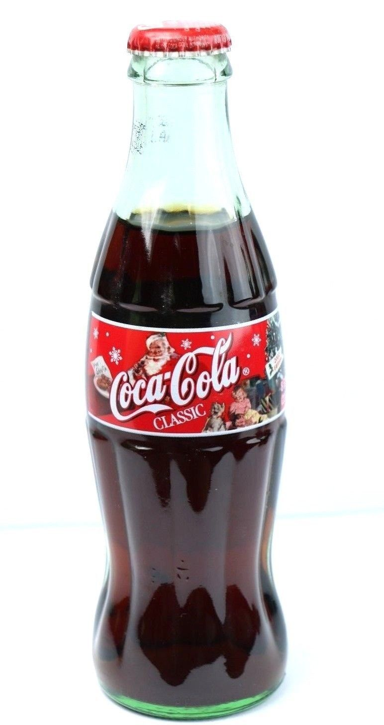 Coca Cola Christmas Bottle.Pin On Collectibles