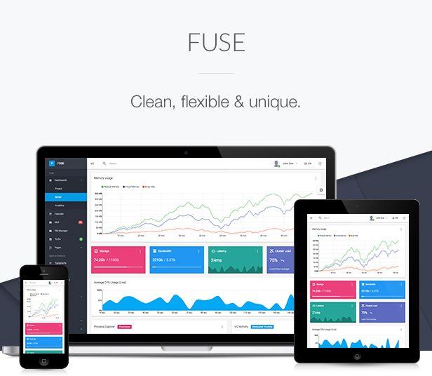 Fuse Angular 9+ Material Design Admin Template