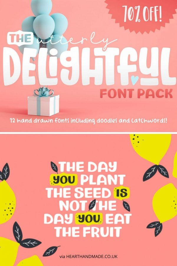 Download 7 Eye-Popping Handwriting Fonts To Use In Your Digital ...