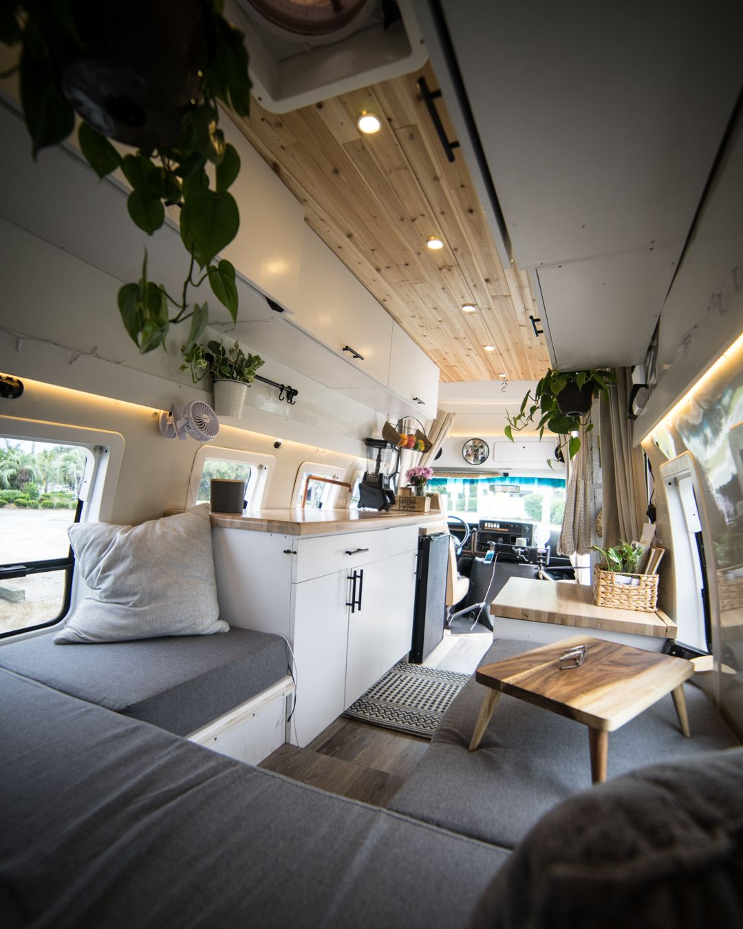 """ProjectVanlife � on Instagram: """"Beautiful and clean conversion by @a.strayproject discover more of it on her page! #vanconversion #skoolieconversion #sprinterconversion…"""""""