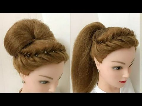 3 Beautiful Hairstyles For Short Hair Easy Hairstyles Youtube