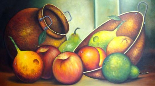 Im genes arte pinturas pinturas al oleo bodegones con - Fotos de bodegones de frutas ...